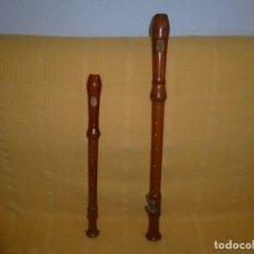 Instrumentos musicales: ·FLAUTAS TENOR Y ALTO GOLDKLANG Y UNA SOPRANO. Lote 158158386