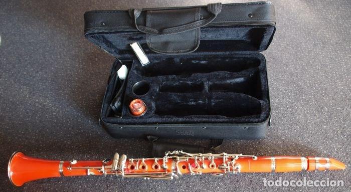 Instrumentos musicales: CLARINETE, VARIANTE ORANGE, EDICIÓN LIMITADA. - Foto 2 - 207250968