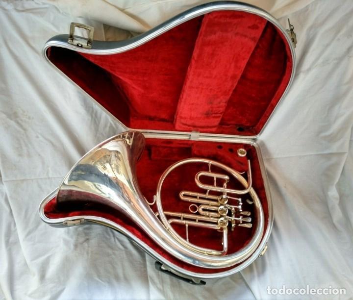 CORNO FRANCÉS. (TROMPA) EXCELENTE SONORIDAD. (Música - Instrumentos Musicales - Viento Metal)