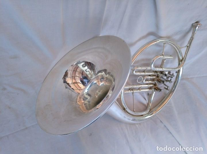 Instrumentos musicales: CORNO FRANCÉS. (TROMPA) EXCELENTE SONORIDAD. - Foto 5 - 158440150
