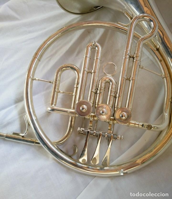 Instrumentos musicales: CORNO FRANCÉS. (TROMPA) EXCELENTE SONORIDAD. - Foto 7 - 158440150