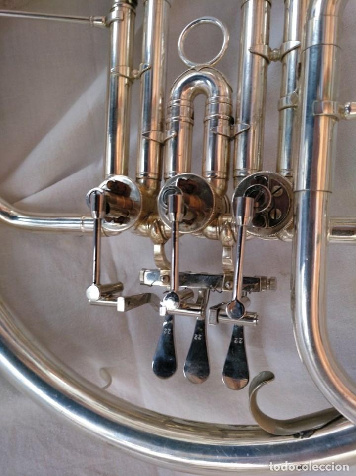 Instrumentos musicales: CORNO FRANCÉS. (TROMPA) EXCELENTE SONORIDAD. - Foto 8 - 158440150