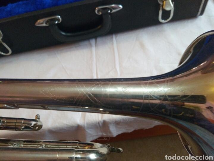 Instrumentos musicales: AUTÉNTICA, PRECIOSA Y COMPLETA TROMPETA, ÚNICA EN INTERNET, VER - Foto 11 - 158697216