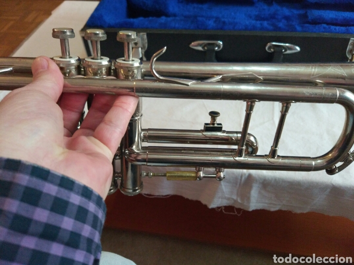 Instrumentos musicales: AUTÉNTICA, PRECIOSA Y COMPLETA TROMPETA, ÚNICA EN INTERNET, VER - Foto 13 - 158697216