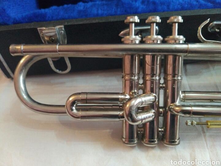 Instrumentos musicales: AUTÉNTICA, PRECIOSA Y COMPLETA TROMPETA, ÚNICA EN INTERNET, VER - Foto 16 - 158697216