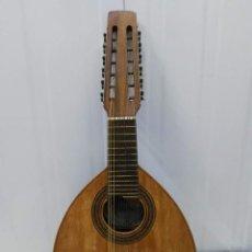 Instrumentos musicales: BANDÚRRIA ANTIGUA GUILLERMO LLUQUET. VALENCIA ANTES DE 1957. Lote 158844370