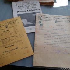 Instrumentos musicales: CATALOGO Y CARTA COMERCIAL DE INSTRUMENTOS DE MUSICA. 1916.. Lote 158910193