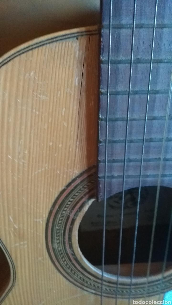 Instrumentos musicales: Guitarra de niño antigua preciosa para restaurar leer antes de comprar - Foto 4 - 158930890