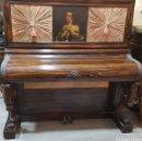 Instrumentos musicales: PIANO DE PARED EN PALOSANTO. Lote 159038997
