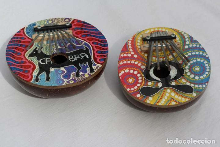 Instrumentos musicales: INSTRUMENTO MUSICAL KALIMBA DE COCOS PERU INSTRUMENTO MUSICAL GARIMBA PIANO DE DEDOS - Foto 2 - 159044902