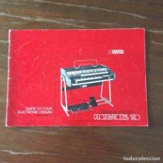 Instrumentos musicales: INSTRUCCIONES FARFISA PROFESSIONAL 110. Lote 159196661