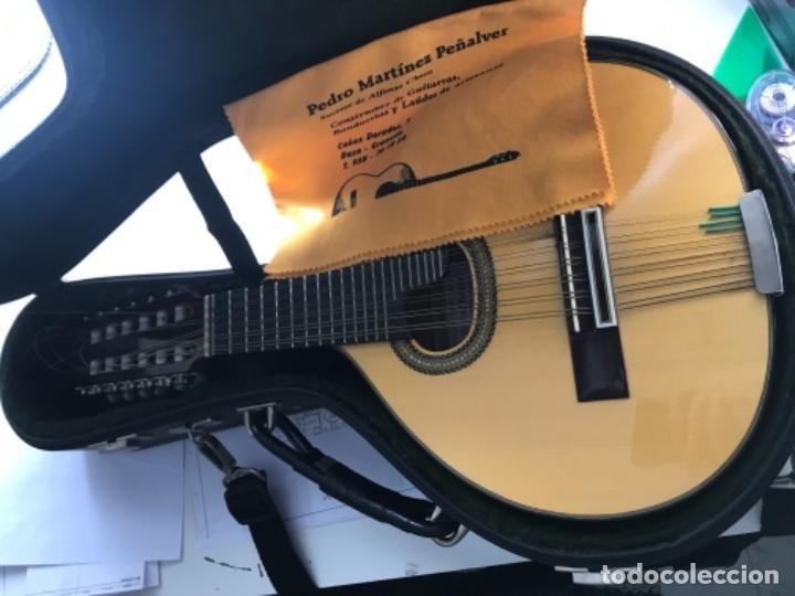 Instrumentos musicales: Bandurria Pedro Martínez peñalver granada ciprés de concierto - Foto 6 - 159198478