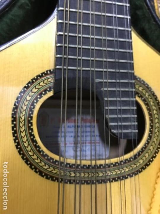 Instrumentos musicales: Bandurria Pedro Martínez peñalver granada ciprés de concierto - Foto 3 - 159198478