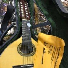 Instrumentos musicales: BANDURRIA PEDRO MARTÍNEZ PEÑALVER GRANADA CIPRÉS DE CONCIERTO. Lote 159198478