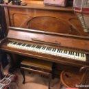 Instrumentos musicales: PIANO ANTIGUO CON BANCO. Lote 159224077