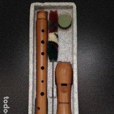 Instrumentos musicales: FLAUTA DULCE. EINE MOLLENHAUER BLOCKFÖTE.SOPRAN C. AÑOS 70. INSTRUMENTOS MÚSICA GARRIDO BAILÉN. . Lote 159395614