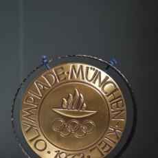 Instrumentos musicales: CURIOSO GONG DE LAS OLIMPIADAS DE MUNICH 1972 - OLYMPIADE MUNCHEN-KIEL. Lote 159496570