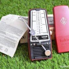 Instrumentos musicales: METRÓNOMO WITTNER TAKTELL JUNIOR CAJA ORIGINAL E INSTRUCCIONES - Nº 824. Lote 159498054