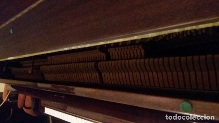 Instrumentos musicales: Piano alemán de pared Ronisch de Luxe - Foto 2 - 159517518