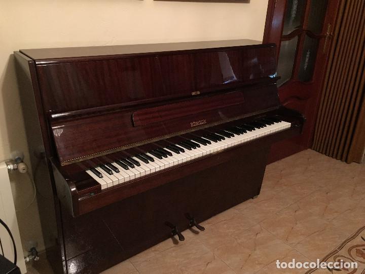 Instrumentos musicales: Piano alemán de pared Ronisch de Luxe - Foto 3 - 159517518
