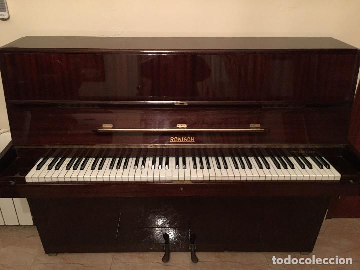 Instrumentos musicales: Piano alemán de pared Ronisch de Luxe - Foto 4 - 159517518