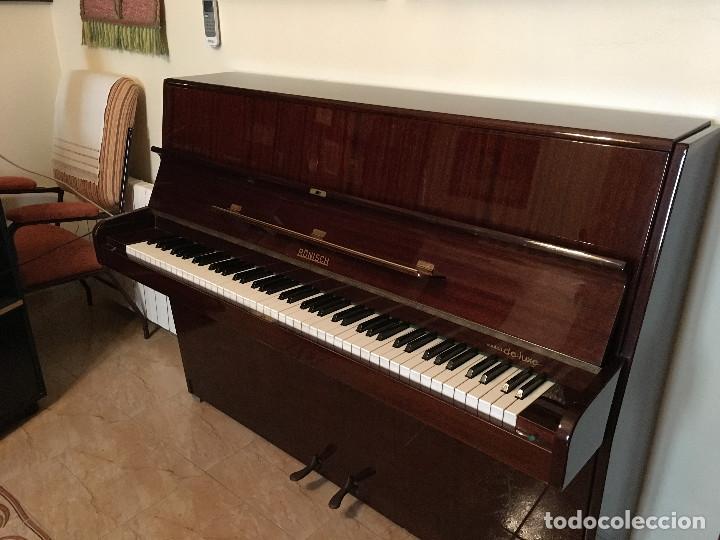 Instrumentos musicales: Piano alemán de pared Ronisch de Luxe - Foto 5 - 159517518