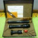 Instrumentos musicales: FLAUTA ALTO MOECK ROTTENBURGH 539 .EBANO. Lote 160006450