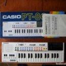 Instrumentos musicales: TECLADO CASIO PT-80 EN MUY BUEN ESTADO ESTÉTICO Y DE FUNCIONAMIENTO. Lote 160107142