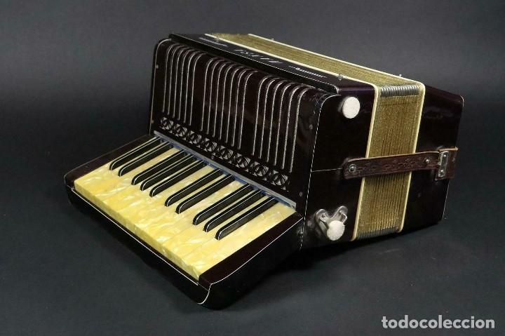 ¡¡GRAN OFERTA !!!ANTIGUA ACORDEON HANSA DE 1920- LOTE 169 (Música - Instrumentos Musicales - Viento Madera)
