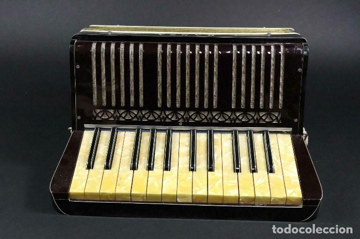 Instrumentos musicales: ¡¡GRAN OFERTA !!!antigua acordeon HANSA DE 1920- LOTE 169 - Foto 2 - 160183246