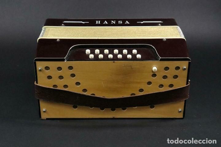 Instrumentos musicales: ¡¡GRAN OFERTA !!!antigua acordeon HANSA DE 1920- LOTE 169 - Foto 5 - 160183246