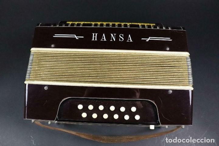 Instrumentos musicales: ¡¡GRAN OFERTA !!!antigua acordeon HANSA DE 1920- LOTE 169 - Foto 6 - 160183246