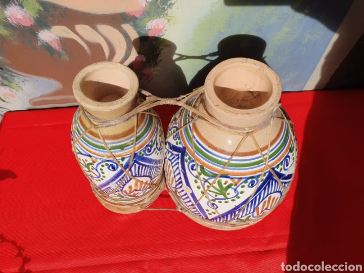 Instrumentos musicales: Tambor, bongos de barro esmaltado - Foto 2 - 202793215