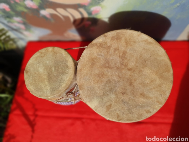 Instrumentos musicales: Tambor, bongos de barro esmaltado - Foto 3 - 202793215