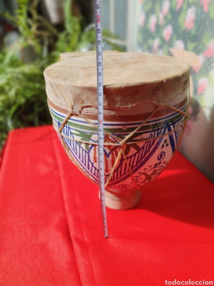Instrumentos musicales: Tambor, bongos de barro esmaltado - Foto 5 - 202793215