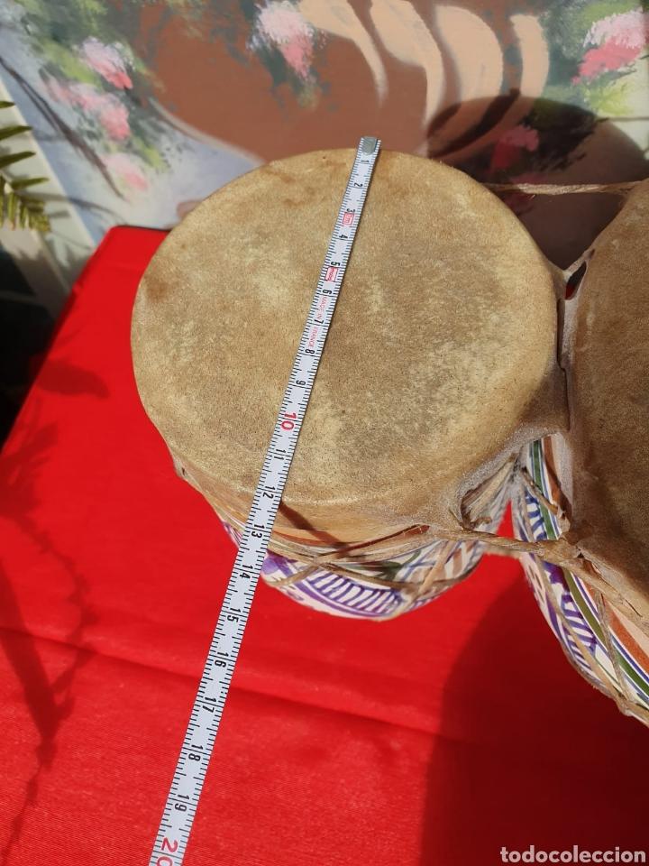 Instrumentos musicales: Tambor, bongos de barro esmaltado - Foto 7 - 202793215