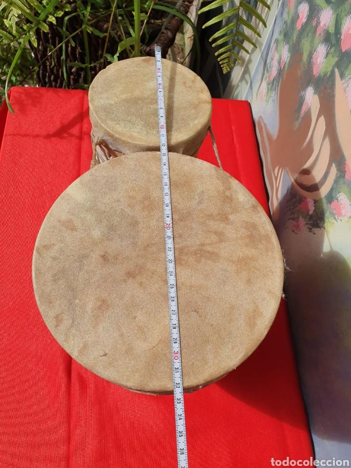 Instrumentos musicales: Tambor, bongos de barro esmaltado - Foto 8 - 202793215