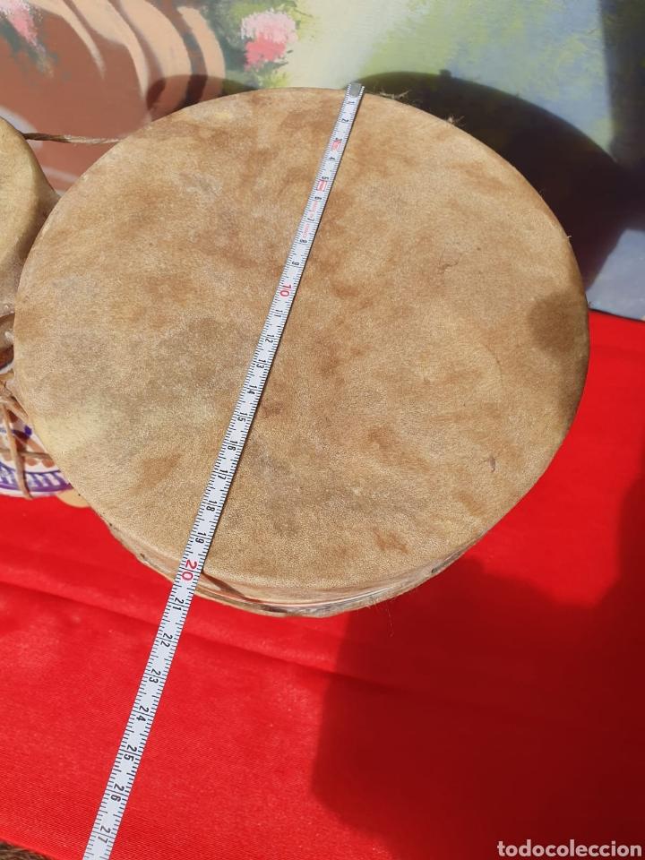 Instrumentos musicales: Tambor, bongos de barro esmaltado - Foto 9 - 202793215