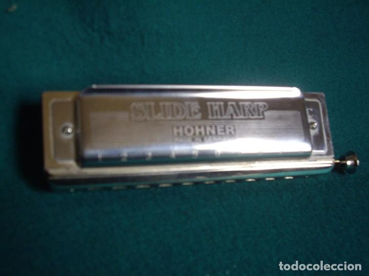 Instrumentos musicales: SLIDE HARP - CROMATICA HOHNER C-10 - Foto 2 - 165389036