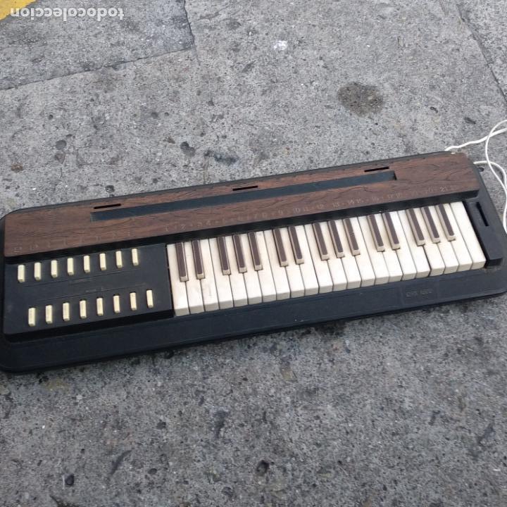 Instrumentos musicales: Graber Rogg CTX 1300 Chord Organ modelo e-3751 órgano teclado funcionando - Foto 2 - 160652842