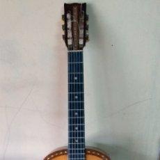 Instrumentos musicales: GUITARRA ANTIGUA FRANCISCO PAU AÑO 1875 APROX LEER ANTES. Lote 147421985