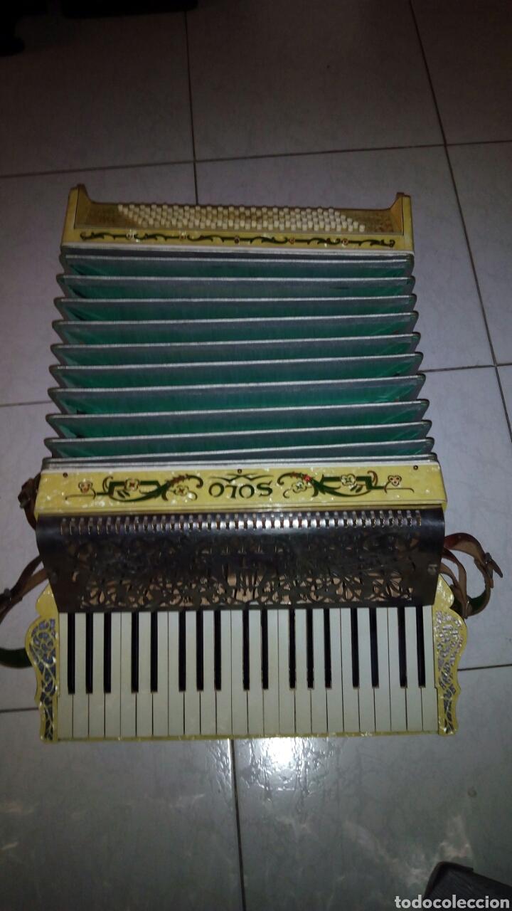 Instrumentos musicales: Extraordinaria Acordeon, 1° Calidad ,Frances, muy buen sonido - Foto 3 - 202781991