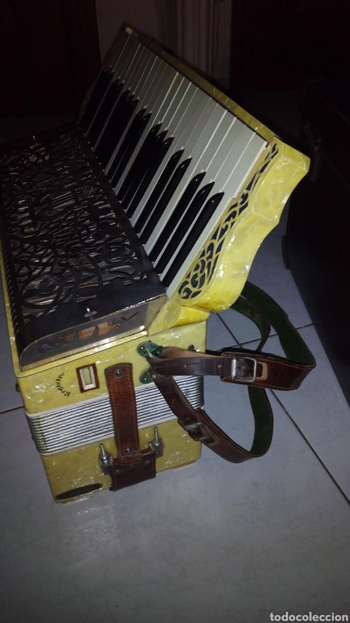 Instrumentos musicales: Extraordinaria Acordeon, 1° Calidad ,Frances, muy buen sonido - Foto 2 - 202781991