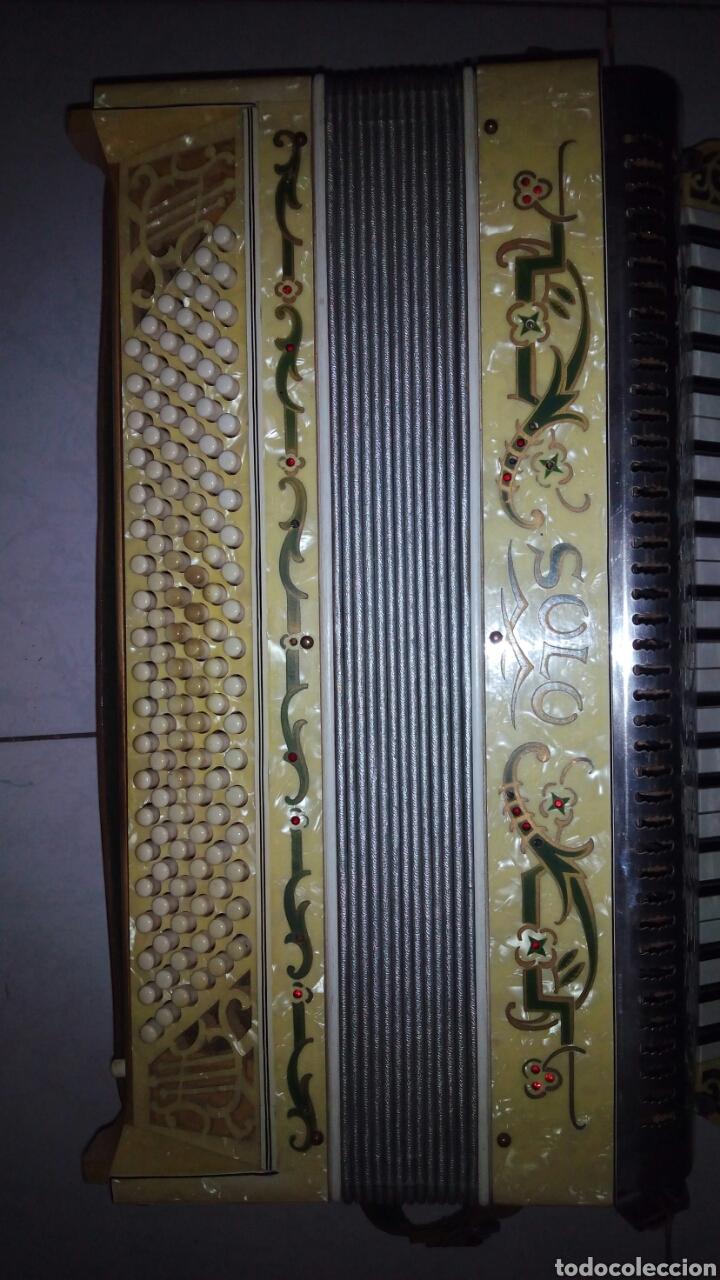 Instrumentos musicales: Extraordinaria Acordeon, 1° Calidad ,Frances, muy buen sonido - Foto 14 - 202781991