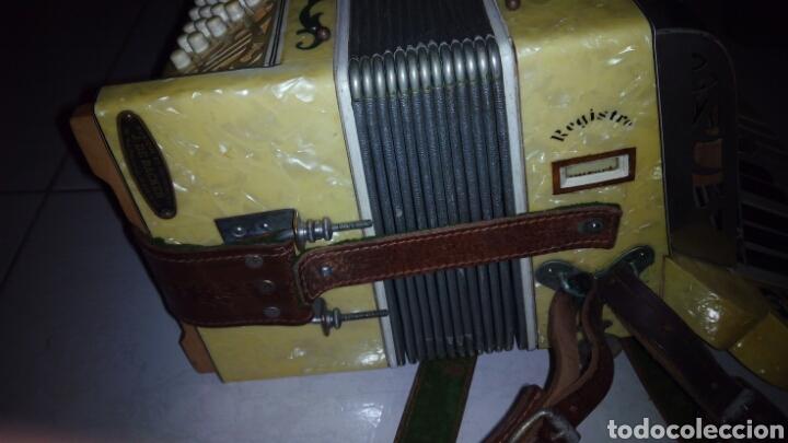 Instrumentos musicales: Extraordinaria Acordeon, 1° Calidad ,Frances, muy buen sonido - Foto 20 - 202781991
