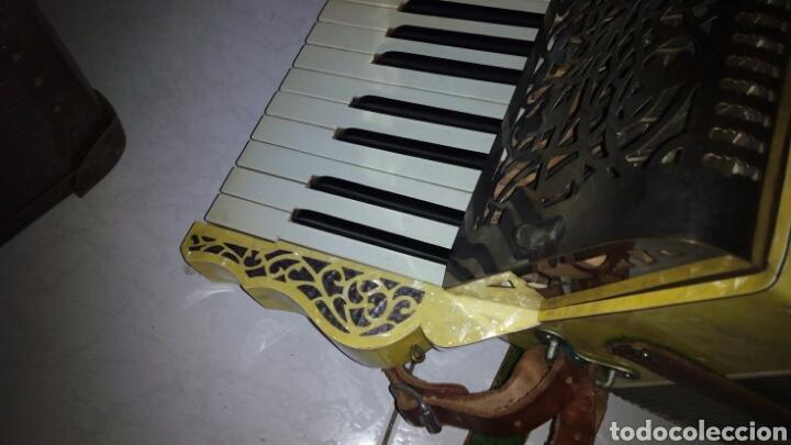 Instrumentos musicales: Extraordinaria Acordeon, 1° Calidad ,Frances, muy buen sonido - Foto 22 - 202781991