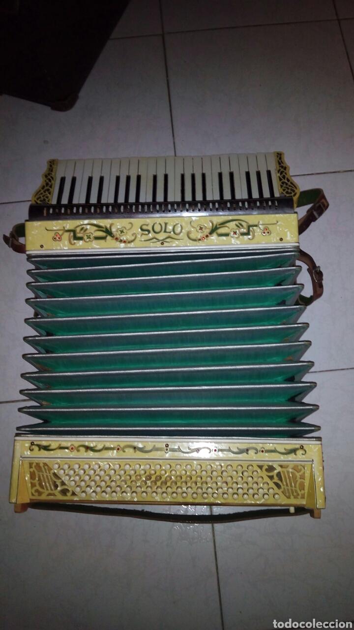Instrumentos musicales: Extraordinaria Acordeon, 1° Calidad ,Frances, muy buen sonido - Foto 24 - 202781991