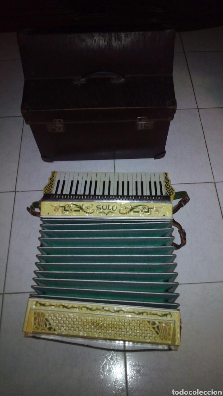 Instrumentos musicales: Extraordinaria Acordeon, 1° Calidad ,Frances, muy buen sonido - Foto 26 - 202781991