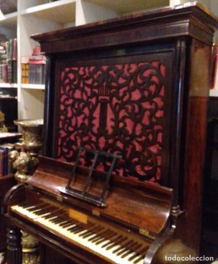 Instrumentos musicales: Piano historico de Muzio Clementi London 1820 - Foto 3 - 161357734