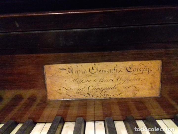 Instrumentos musicales: Piano historico de Muzio Clementi London 1820 - Foto 6 - 161357734